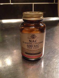 En bra NAC produkt som jag kan rekommendera. Gav 1/2 kapsel morgon och kväll.