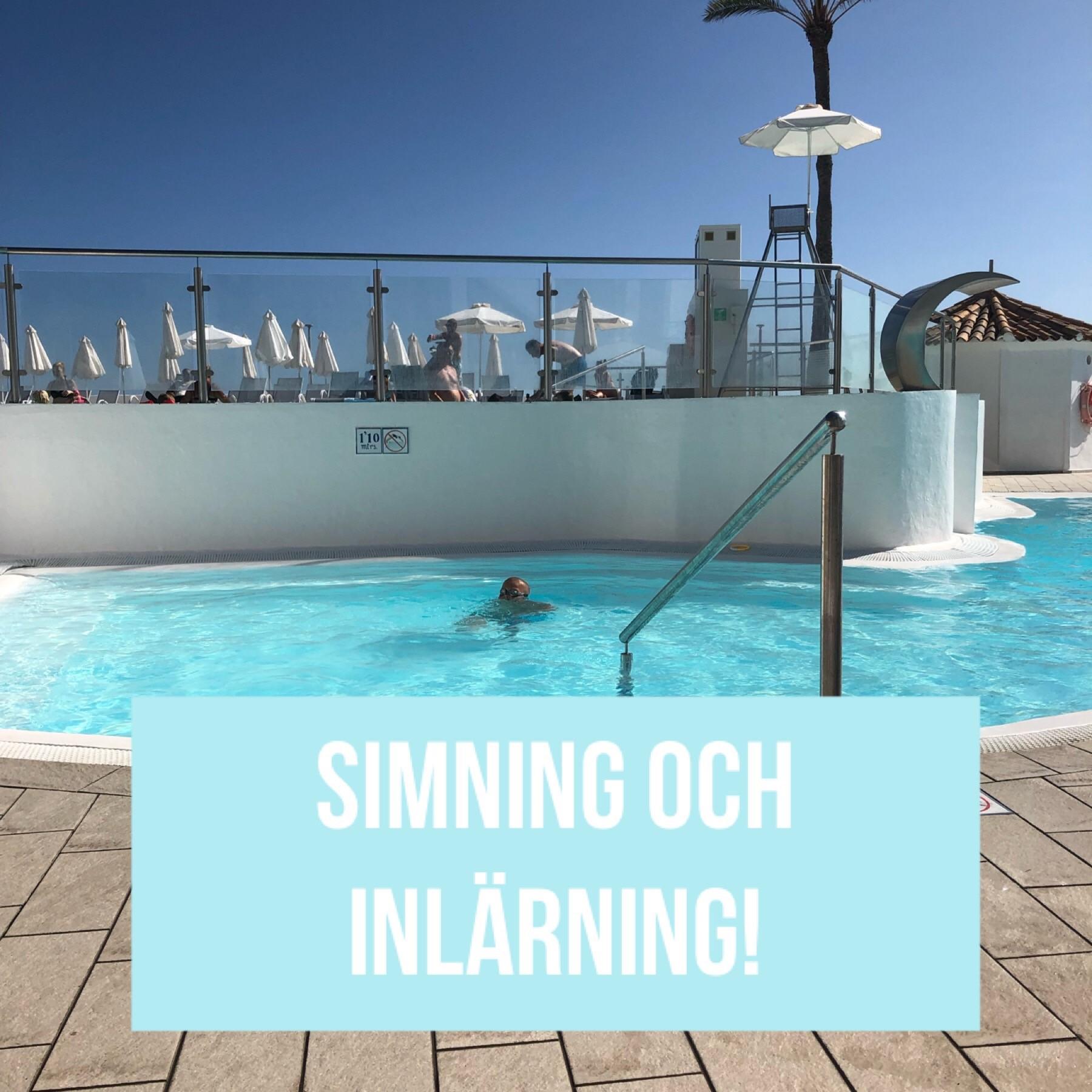 Vatten och simning är bra för kognitionen och utvecklingen